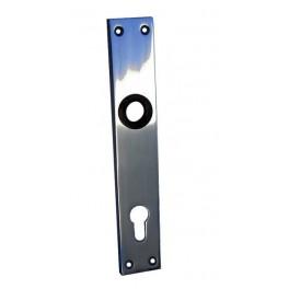 Štít dveřní, hliníkový, 72 mm, FAB, bez kliky, K489, Komas, 003907