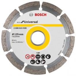 Diamantový kotouč, 125 x 22,23 mm, Eco for Universal, segm., bez krabičky, Bosch, 2.608.615.041