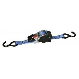 Automatický upínací pás, 25 mm, 3 m, 600 kg, S-hák, 1234391