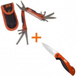 Pouze do vyprodání! Sada nářaďových kleští MTT151 a nože 2815FS, Bahco, MTT151-2815FS