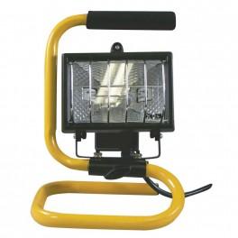 Halogenový reflektor 150W bez PIR senzoru černý s držákem, G3101, Emos, EM-G3101
