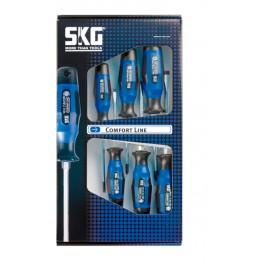 Sada šroubováků, 7-dílná, Profi Comfort Line, SKG Tools, 1071595
