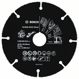 Dělící kotouč z tvrdokovu, 125 x 22,23 x 1.0 mm, Carbide Multi Whell, Bosch, 2.608.623.013