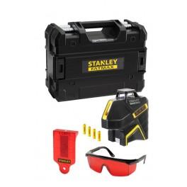Linkový laser, 360° + 2 vertikální paprsky, červený, FatMax, Stanley, FMHT1-77416