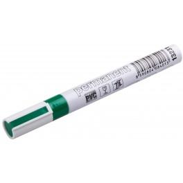 Permanentní značkovač, zelená barva, alu pouzdro, F13231