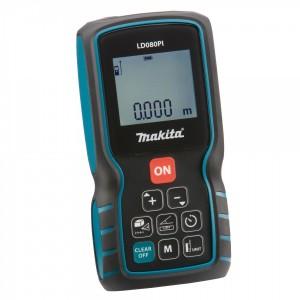 Laserový měřič vzdálenosti 0,05 - 80 m, Makita LD080PI