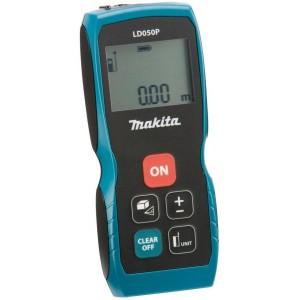 Laserový měřič vzdálenosti 0,05 - 50 m, Makita LD050P