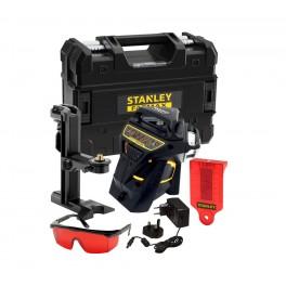 Linkový laser, 3 x 360° x 3 R, červený paprsek, FatMax, Stanley, FMHT1-77357