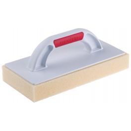 Hladítko plastové s jemnou HYDRO houbou, 280 x 140 x 30 mm, F34165