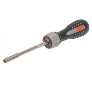 Šroubovák ráčnový s LED světlem a 6 bity, Bahco 808050L