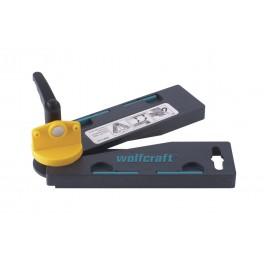 Úhlová měrka, 50 x 345 x 70 mm, 30 - 180°, Wolfcraft, 6921000