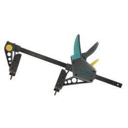 Montážní svěrka, 450 mm, 120 kg, na terasová prkna, Wolfcraft, 6985000