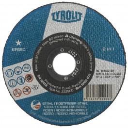 Řezný kotouč na ocel, nerez, 150 x 1.6 x 22,2 mm, Basic *, A46Q-BF, Tyrolit, RO150/1.6X