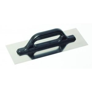 Hladítko rovné, nerezové, 360 x 130 mm,  PVC, F31151