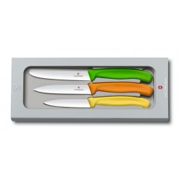 Třídílná sada nožů, Victorinox, 6.7116.31G