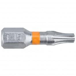 Standartní bit s drážkou Torx, T15 x 25 mm, Orange, SUPER LOCK, 2 ks, Narex, 65404461