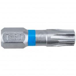 Standartní bit s drážkou Torx, T30 x 25 mm, Blue, SUPER LOCK, 2 ks, Narex, 65404467