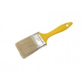 Štětec plochý, 100 x 15 x 75 mm, Natur, F52220
