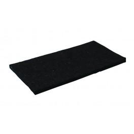 Náhradní filc černý, 280 x 140 mm, F34243