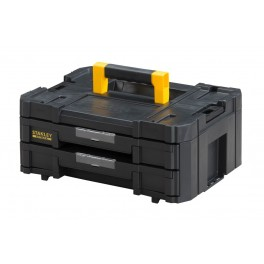 Box na nářadí se 2 mělkými zásuvkami, 440 x 330 x 176 mm, TSTAK IV FatMax, Stanley, FMST1-71969