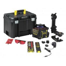 Rotační laser X700LR, červený paprsek, integr. aku, 60/600 m, FatMax®, Stanley, FMHT77447-1