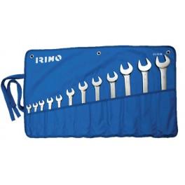 Sada očko-plochých klíčů, 12-dílná, Irimo, 25-12-W