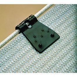 Upínací spona na stínící tkaninu. FastClip C.002, balení 20 ks, 2170706
