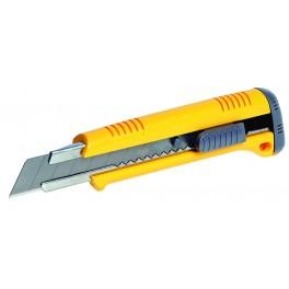 Odlamovací nůž, 18 mm, 0.5 mm, + 2 čepele, 16018, KDS-JAPAN, L-18