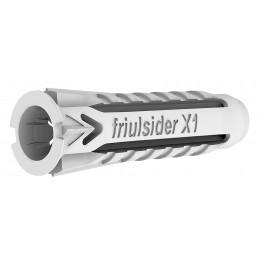 Univerzální hmoždinka, X1,  6 x 30 mm, Friulsider X1-6