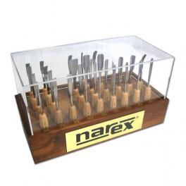 Sada řezbářských nástrojů STANDARD v dřevěném stojanu 31pcs, Narex Bystřice, B8775-02