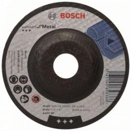 Brousící kotouč na kov, 115 x 6 x 22,23, Standart for Metal, Bosch, 2.608.603.181, BO115/6B