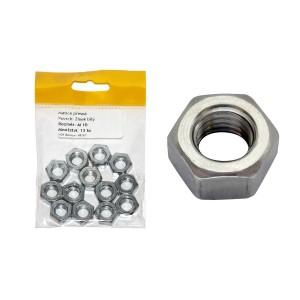Sáček - matice přesná, bílý zinek, M6 mm, VB165