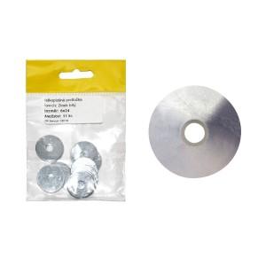 Sáček - podložka velkoplošná, bílý zinek, 8 mm, VB179