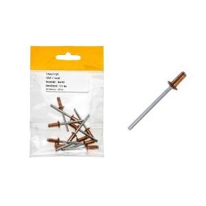 Sáček - Trhací nýt, Cu / St, 4 x 6 mm , VB114