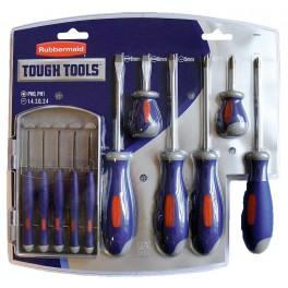 Sada šroubováků, 11-dílná, Rubbermaid Tough Tools, 10504613, 10504613 NE