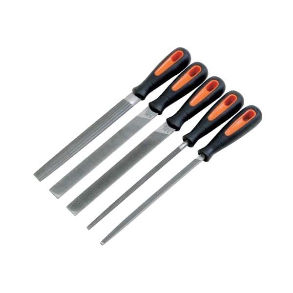 Sada pilníků ERGO™, 5-dílná, Bahco, 1-478-08-1-2