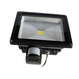 LED reflektor MCOB LED 50 W s pohybovým senzorem, SLMCOB50S