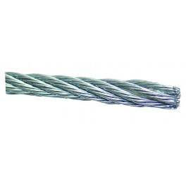 Ocelove lanko zinkované, 1.0 mm, návin 500 m, LANKO1-500
