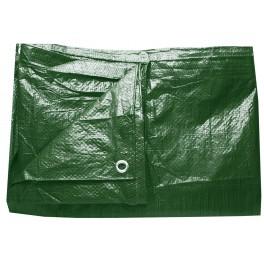 Plachta zelená, 4x5 m, 70 g, PL4X5Z