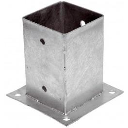 Patka sloupku, 121 x 121 x 150 mm mm, tloušťka 2 mm, F55423