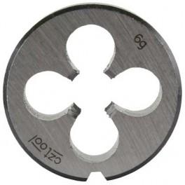 Závitová kruhová čelist, DIN EN 22 568, metrický závit, M 10, lícování 6G, NO, OM10