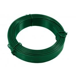 Drát vázací 2,0 mm / 50 m, zelený, PVC, F42249