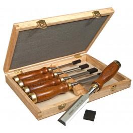 Sada dlát Bailey® s dřevěnou rukojetí, 5-dílná, Stanley, 2-16-217
