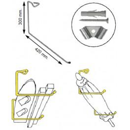 Držák jednoduchý, 300 x 420 mm, SP997