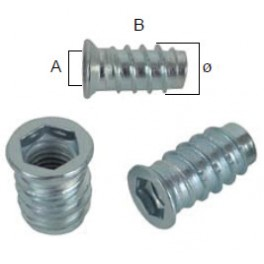 Nábytkářský spojovací šroub, M8 x 20 mm, SP1714