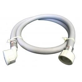 Pračková hadice napouštěcí, rovná - koleno, matka - matka, 250 cm, PHNRKFF250