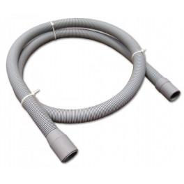 Pračková hadice vypouštěcí, rovná - rovná,  46 cm, PHVRR50