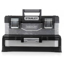 """Kovoplastový box na nářadí se zásuvkou, 20"""", 540 x 280 x 335 mm, Stanley, 1-95-830"""