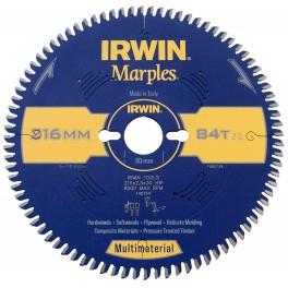 Pilový kotouč na dřevo, 254 x 30 mm, 84 zubů, SK plátky, univerzální, TCG, HPP, Marples, Irwin, IM254/84