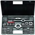 Souprava metrických závitořezných nástrojů M1-II, z nástrojové oceli, NAREX Bučovice, M1-II